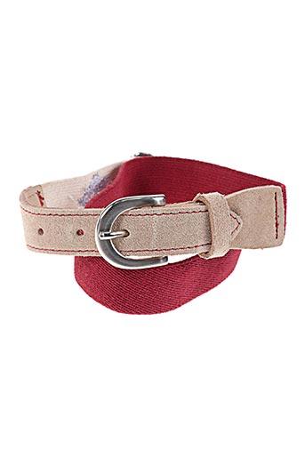 floriane accessoires fille de couleur rouge