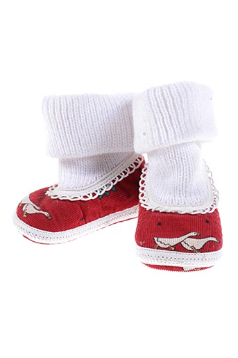floriane chaussures fille de couleur rouge
