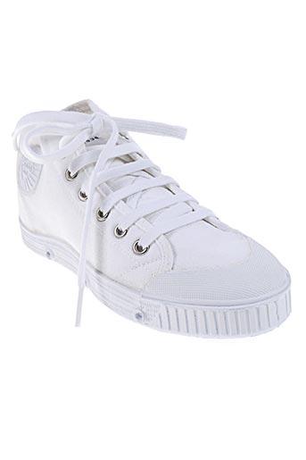 spring court chaussures enfant de couleur blanc