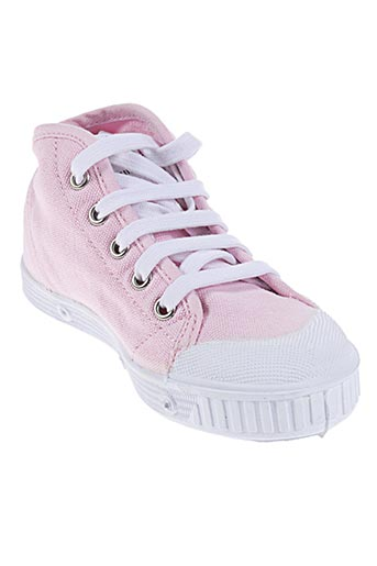 spring court chaussures enfant de couleur rose