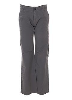 Pantalon casual gris IKKS pour garçon