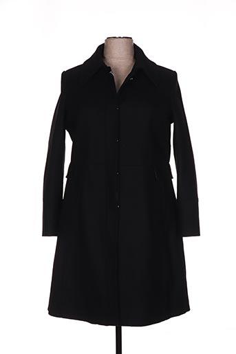c.missaro manteaux femme de couleur noir