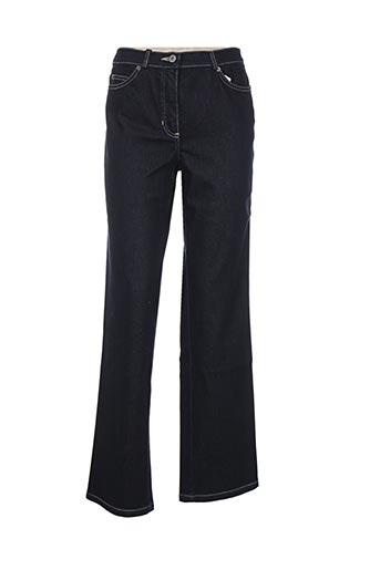 gelco jeans femme de couleur bleu