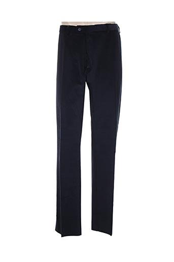 pierre d'arlanc pantalons homme de couleur bleu