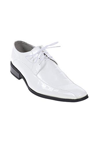 crinoligne chaussures homme de couleur blanc