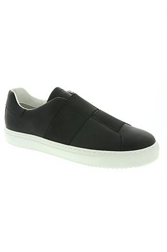 armani chaussures homme de couleur noir