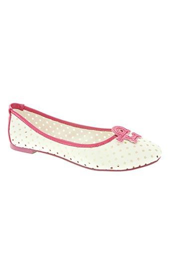 rocco barocco jeans chaussures femme de couleur blanc