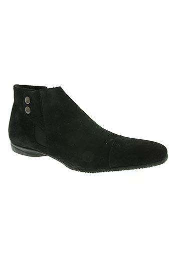 kiki goodman chaussures homme de couleur noir