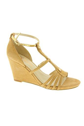jb martin chaussures femme de couleur beige