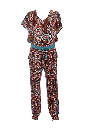 Combi-pantalon marron DESIGUAL pour femme