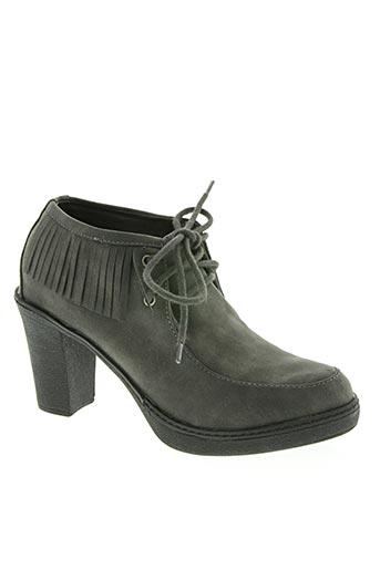 ixoo chaussures femme de couleur gris