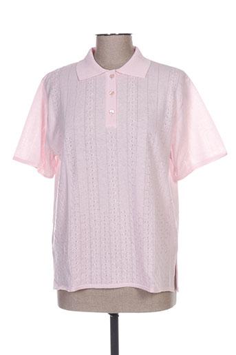 eleane t-shirts femme de couleur rose