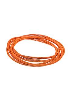 Bracelet orange AUTOUR D'ELLE pour femme
