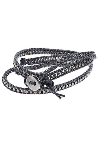 Bracelet gris AUTOUR D'ELLE pour femme