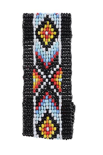 Bracelet noir AUTOUR D'ELLE pour femme