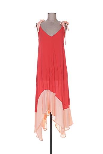 frogbox robes femme de couleur rouge