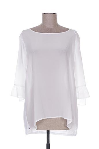 frogbox chemises femme de couleur blanc