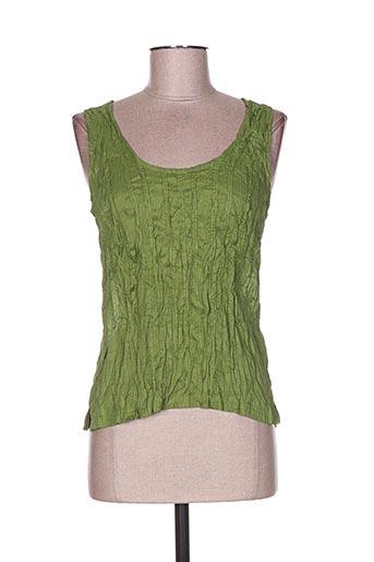too katai chemises femme de couleur vert