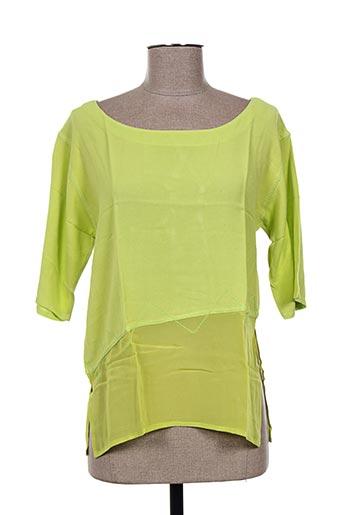 garuda garuzo t-shirts femme de couleur vert