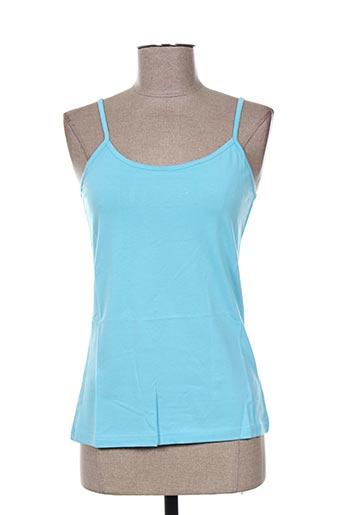 solola chemises femme de couleur bleu