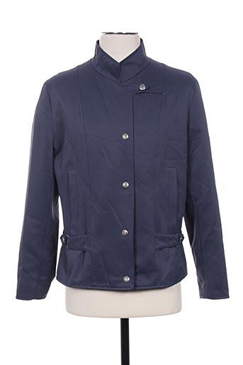 claude havrey vestes femme de couleur bleu