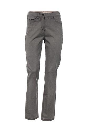 bx jeans femme de couleur gris
