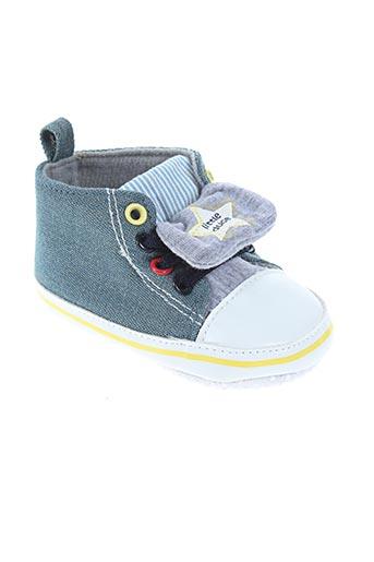 nursery time chaussures garçon de couleur bleu