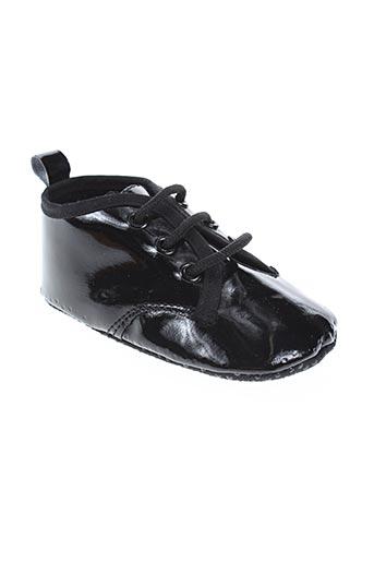 nursery time chaussures garçon de couleur noir