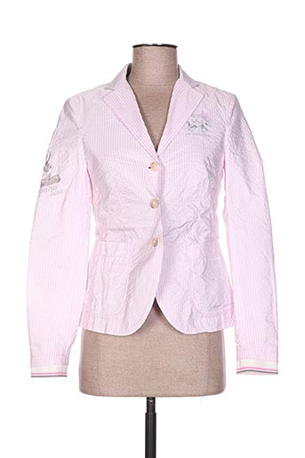Veste casual rose LA MARTINA pour femme