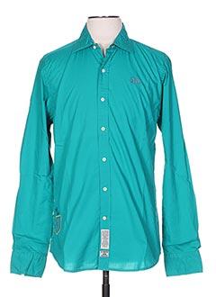 Chemise manches longues vert LA MARTINA pour homme