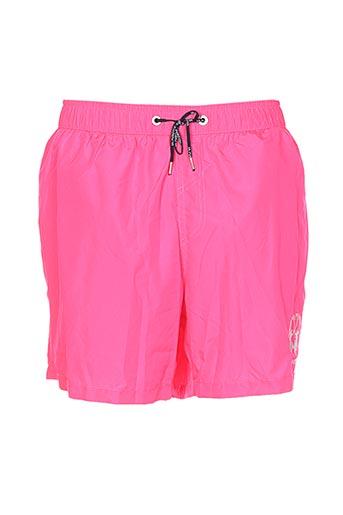 la martina maillots de bain homme de couleur rose