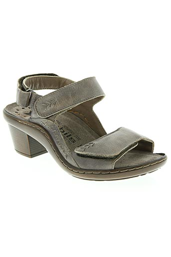 mobils chaussures femme de couleur marron