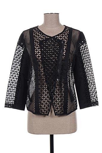 Veste casual noir LESLIE pour femme