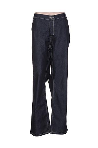 Jeans bootcut bleu ALAIN WEIZ pour femme