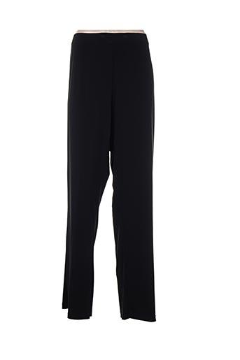 Pantalon casual noir ALAIN WEIZ pour femme