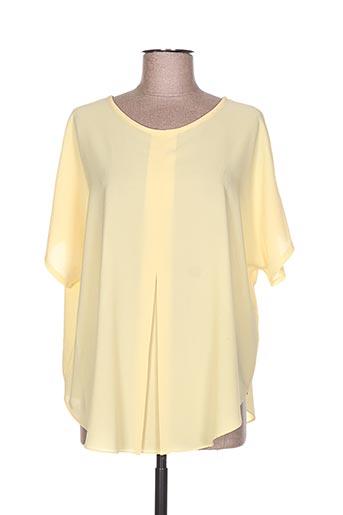 esperance chemises femme de couleur jaune