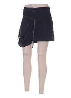 Mini-jupe noir MARITHE & FRANCOIS GIRBAUD pour femme