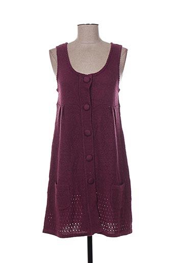 maella robes femme de couleur violet