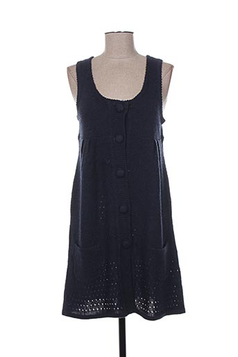 maella robes femme de couleur bleu