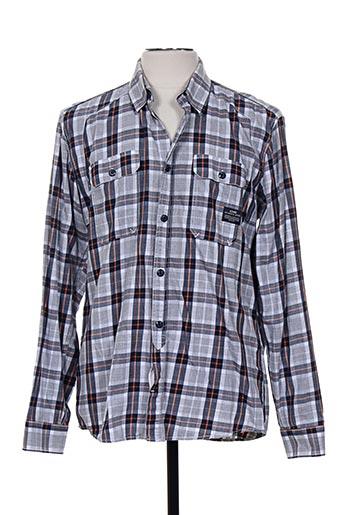 jack EFFI_CHAR_1 jones chemises homme de couleur gris