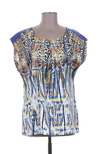 arona san francisco chemises femme de couleur bleu