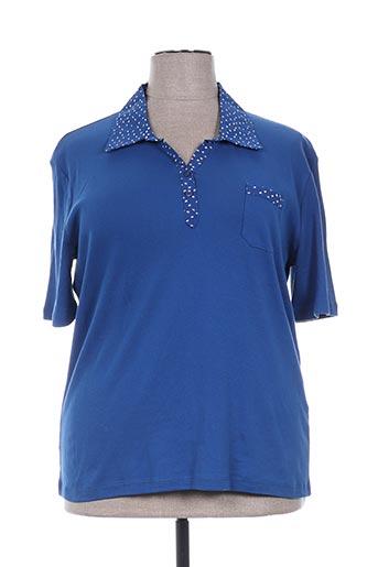 griffon t-shirts femme de couleur bleu