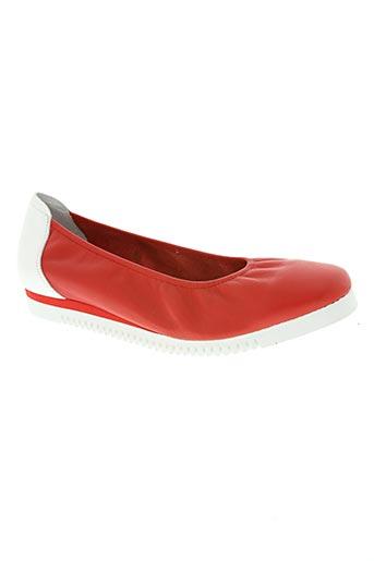 sabrinas chaussures femme de couleur rouge