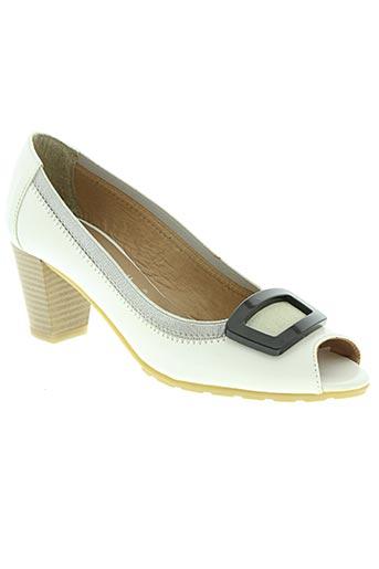 modabella chaussures femme de couleur blanc