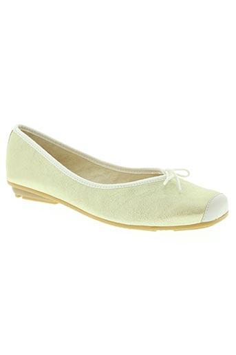 hirica chaussures femme de couleur jaune