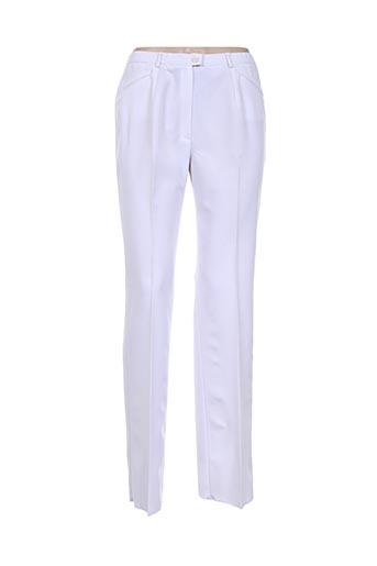 Pantalon chic blanc CHRISTIAN MARRY pour femme