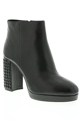 adele dezotti chaussures femme de couleur noir