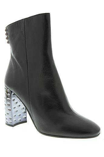 bruno premi chaussures femme de couleur noir