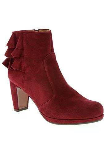 chie mihara chaussures femme de couleur rouge