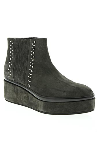 janet & janet chaussures femme de couleur gris